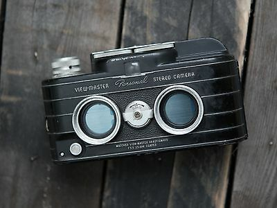 VINTAGE VIEW-MASTER PERSONAL 35mm STEREO CAMERA