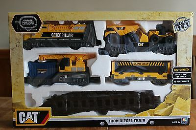 Cat Iron Diesel Train Caterpillar Construction Toy State