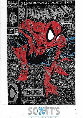 Spiderman  #1  NM (Torment Silver Edition) signed by McFarlane for Spider's Web