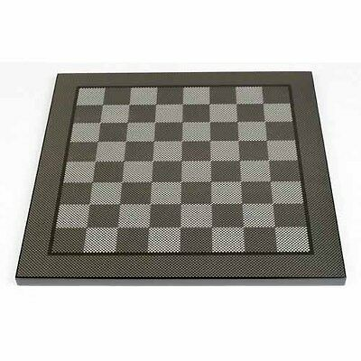 New Dal Rossi , Carbon Fibre 40cm Chess Board Board game