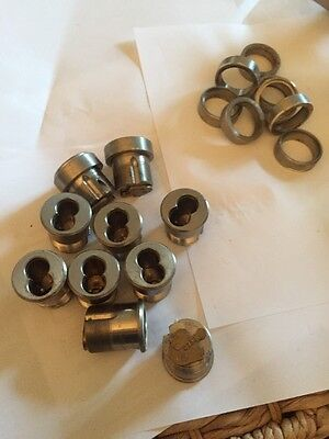 10 BEST Mortise Cylinder 626 used locksmith checked c258 tail 3/8 heavy collar