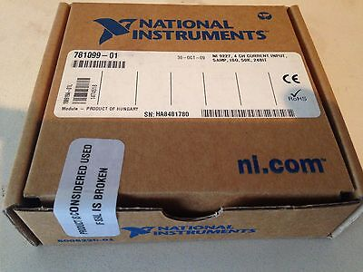 **NEW-Sealed Box**  NI 9227 4-Channel Current Input C Series Module
