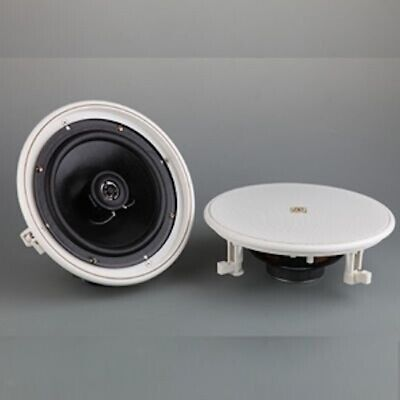 P.Audio PCS-8CFT 8 Inch Coaxial Ceiling Speaker with optional 100V transformer