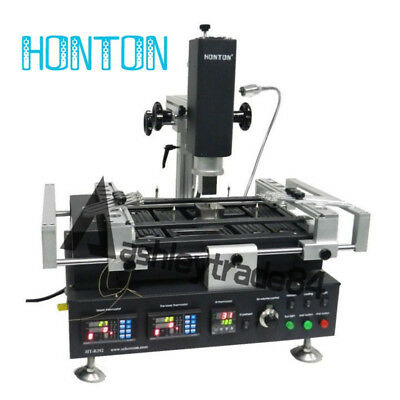 HT-R392 220V Hot Air & Infrared Preheating BGA Rework Station