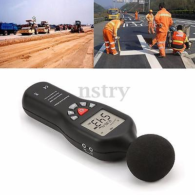 Digital Sound Level Decibel Meter 32000 Sets Data Logger 30-130dB Noise Tester