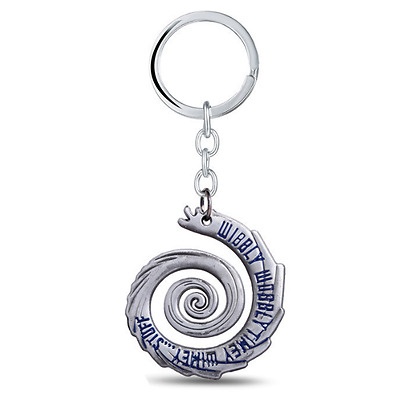 NEW Doctor Dr Who Inspired Whovian Wibbly Wobbly Key Ring Keyring