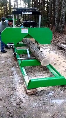2017 Fully Complete,  7HP (301cc) Portable Sawmill, Bandmill.