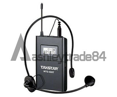 Takstar WTG-500 UHF Tour Guide Wireless System 1 Transmitter with 3 Receivers