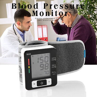 AU!Digital Electronic Blood Pressure Monitor Upper Arm With Large Cuff not Omron
