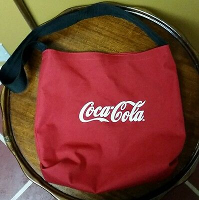 Coca Cola tote bag Coke Classic Handbag Soft drink soda pop collectible satchel!