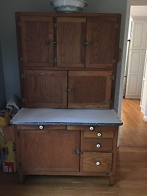 antique Hooiser cabinet, good condition