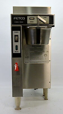 Fetco CBS-51H 1.5 Gallon Single Coffee Brewer Commercial Machine w/ Hot Water