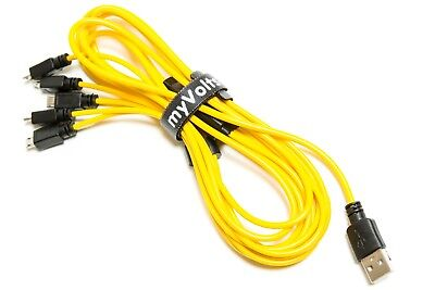 5-way power splitter cable for Roland Boutiques + UK PSU by myVolts