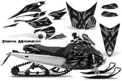 Yamaha FX Nytro 08-14 Graphics Kit CreatorX Snowmobile Sled Decals Wrap TMS