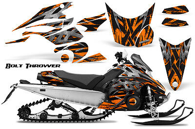 Yamaha FX Nytro 08-14 Graphics Kit CreatorX Snowmobile Sled Decals Wrap BTO