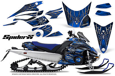 Yamaha FX Nytro 08-14 Graphics Kit CreatorX Snowmobile Sled Decals Wrap SXBL