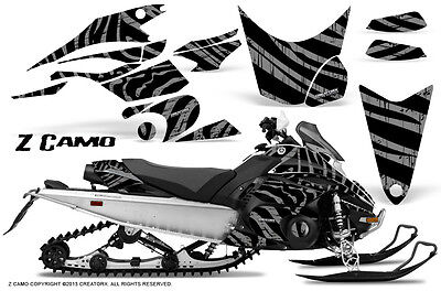 Yamaha FX Nytro 08-14 Graphics Kit CreatorX Snowmobile Sled Decals Wrap ZCS