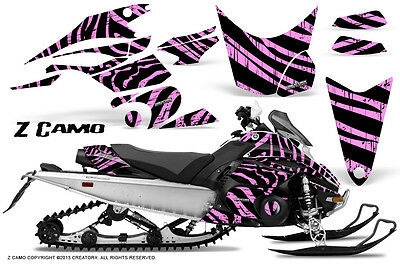 Yamaha FX Nytro 08-14 Graphics Kit CreatorX Snowmobile Sled Decals Wrap ZCPL