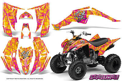 Yamaha Raptor 350 Graphics Kit Creatorx Decals Stickers Samurai Py