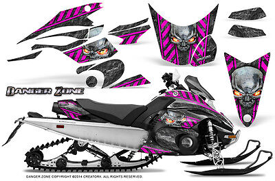 Yamaha FX Nytro 08-14 Graphics Kit CreatorX Snowmobile Sled Decals Wrap DZP