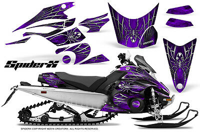 Yamaha FX Nytro 08-14 Graphics Kit CreatorX Snowmobile Sled Decals Wrap SXPR