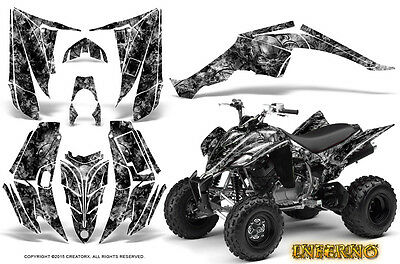 Yamaha Raptor 350 Graphics Kit Creatorx Decals Stickers Inferno S
