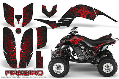 Yamaha Raptor 660 Graphics Kit Creatorx Decals Stickers Firebird Rb