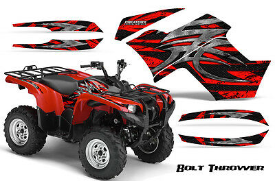 Yamaha Grizzly 700 550 Graphics Kit Creatorx Decals Stickers Btr