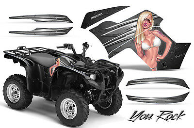 Yamaha Grizzly 700 550 Graphics Kit Creatorx Decals Stickers Yrs