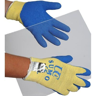Uci Made With Kevlar Latex Palm Sumo Glove M L Xl Cut Resistant Level 4 Work