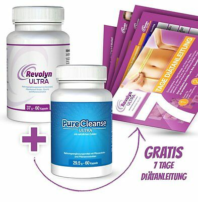 Revolyn Ultra & Pure Cleanse Ultra +7 Tage Diätanleitung (105,11€/100g)