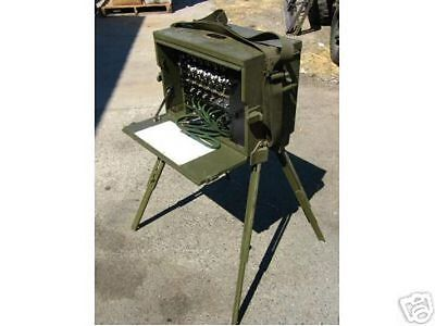 """Military World War II Signal Corps BD-71 Switchboard """"Re-conditioned"""""""