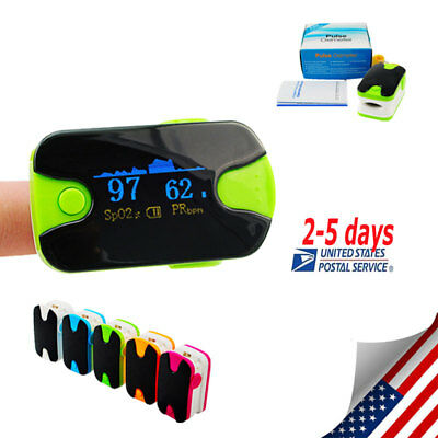 HOT ! Finger Pulse Oximeter OLED display Blood Oxygen Heart Rate SPO2 Monitor