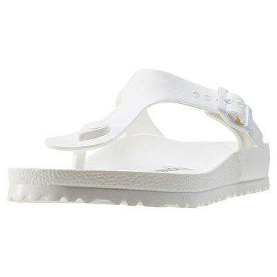 24ca1bc5aaa BIRKENSTOCK GIZEH EVA Regular Womens Sandals White New Shoes ...