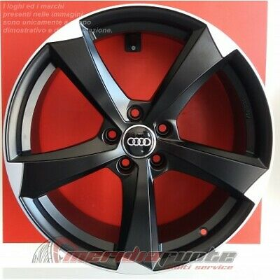 Ican Sbd Cerchi In Lega Nad 17 7,5J Et35 5X100 57,1 Made Italy Audi A1 Vw Polo S