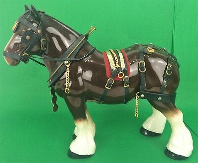 Brooks Brothers Porcelain Draught Horse