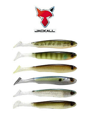 "JACKALL GLOSSY SHAD SWIMBAIT 3.8"" 6 PACK select colors"