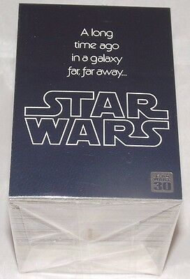 Topps STAR WARS 30th Anniversary Complete 120 Trading Card Base Set