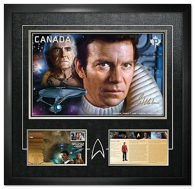 Star Trek 2017 Limited Edition Framed Print Autographed By William Shatner Kirk