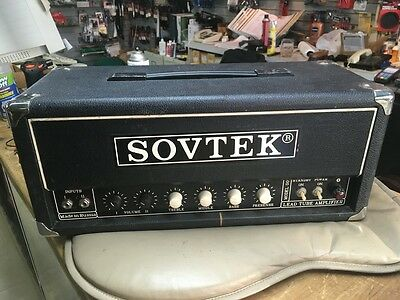 Used Sovtek Mig-50 Guitar Amplifier Head Sounds Great LOWER PRICE