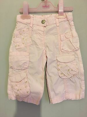 Baby Girls Cute Pink Trousers 3-6m ��