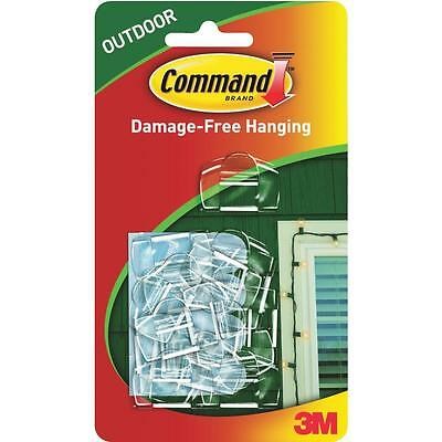 Command Outdoor Light Clips with Foam Strips