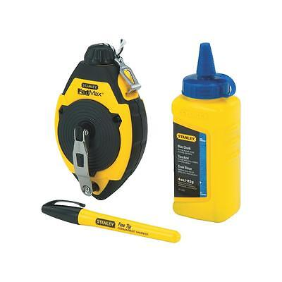 Stanley 100' Blue Chalk/Reel Set