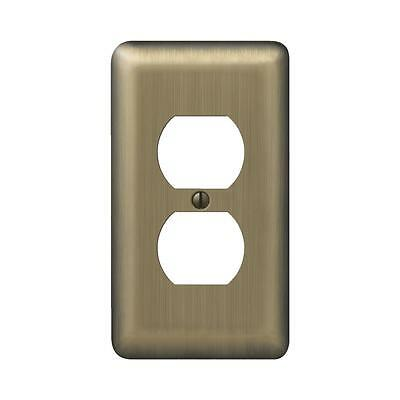 Amerelle Stamped Steel Outlet Wall Plate
