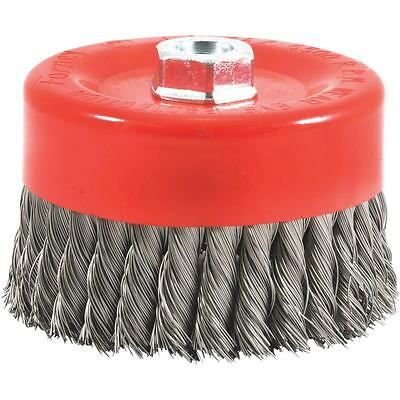 "Forney 6"" Knotted Cup Brush"