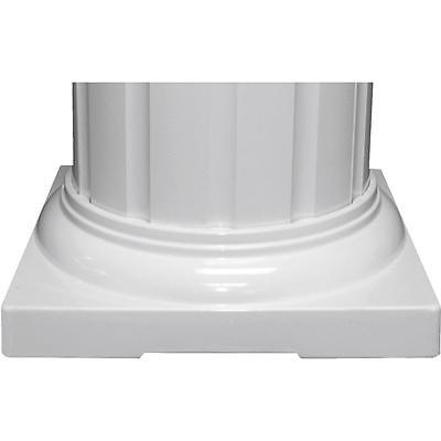 "Columns Inc 8"" Round Cap/Base Set"
