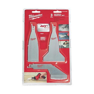 Milwaukee 3Pc Material Removal Set