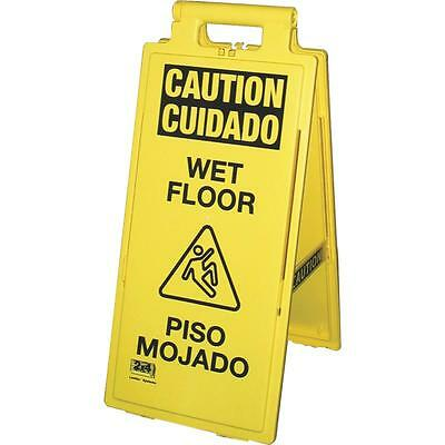 Impact Wet Floor Sign Eng/Span