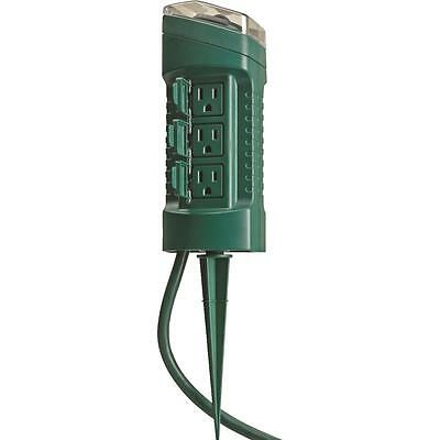 Woods 6 Outlet Outdoor Timer