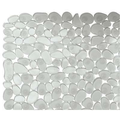 InterDesign Clear Pebblz Bath Mat